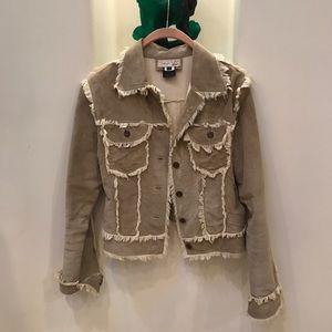 Vintage 100% Leather Fringe Jacket